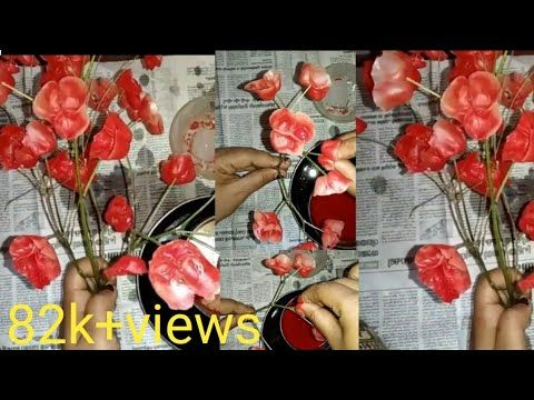 Diy Candle Flowers Wax Flower Simple And Easy Candle Flower Making Tiktok Viral Candle Flower Youtube Wax Flowers Flower Candle Diy Candles