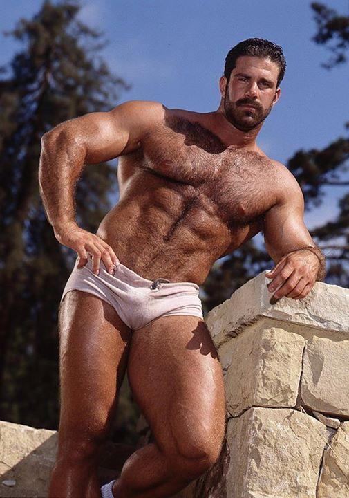 muscle guys hot outdoor fucking