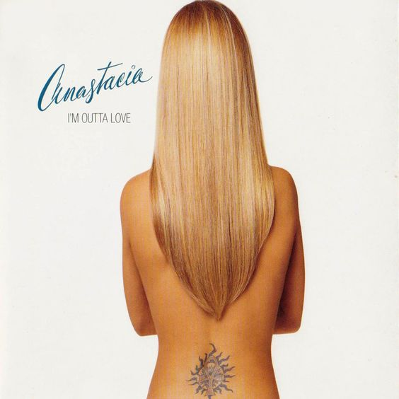 Anastacia – I'm Outta Love (single cover art)