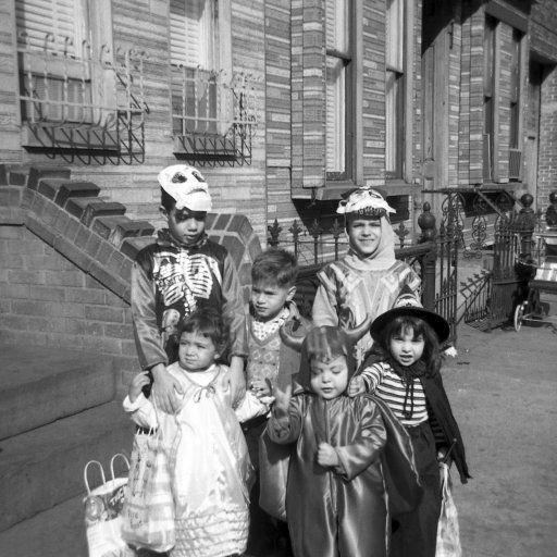 Vintage Halloween Photo ~ Halloween in Brooklyn, NY. 1965