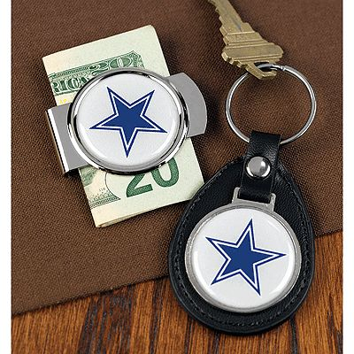 NFL Key Ring and Money Clip Set