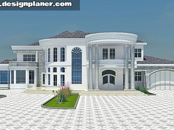 DESIGNED HOME PLANS   House   Pinterest   Mansion, Modern Mansion And House