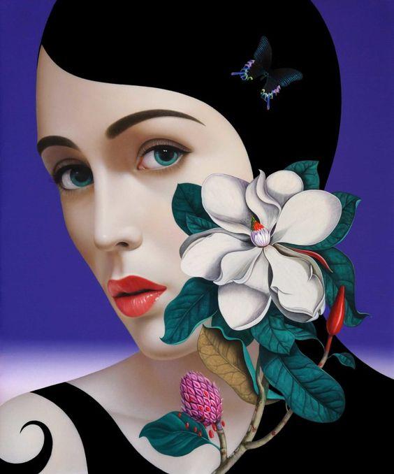 Magnolia - Slava Fokk | Gallery van Dun
