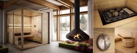 Saune finlandesi TEUCO   Arja 200x150 cm