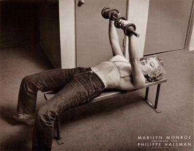 Marilyn Monroe, Hollywood 1952 Print