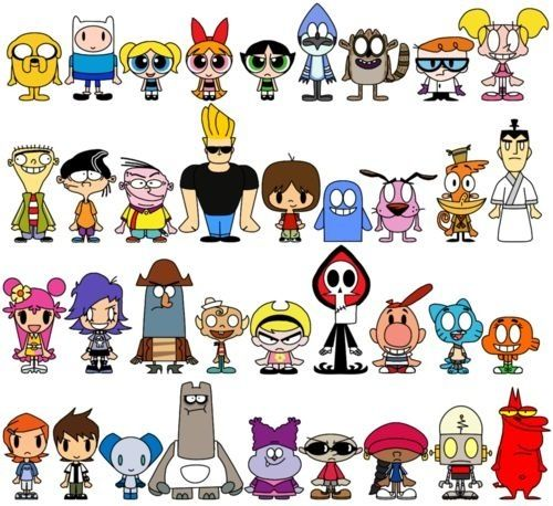 Cartoon Characters Named Jack : Cartoon network over the garden wall and regular show on
