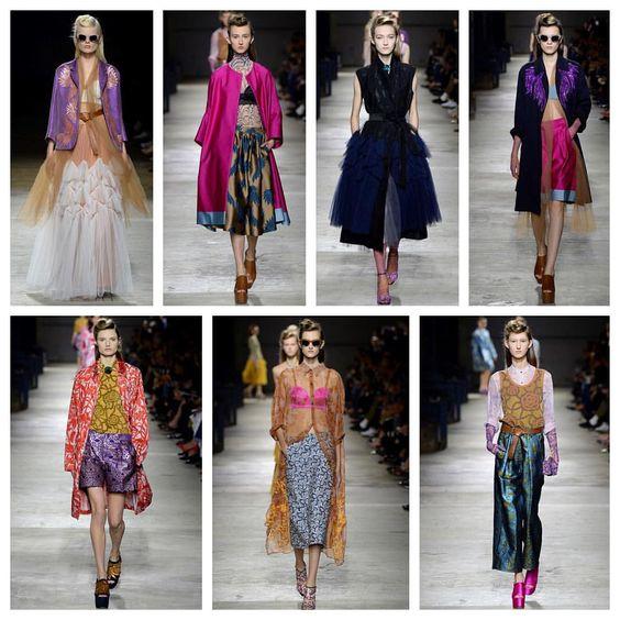 "Ashlee Sara Jones on Instagram: ""DRIES PLEASE! Dries Van Noten @ashleesarajones @driesvannoten #driesplease #driesvannoten #pfw #ss16 #paris #france #highfashion #designer #runway #fashion #fashionweek #style #prints #printsonprints #photography #details #colors #getyourneonon #neon #obsessed"""