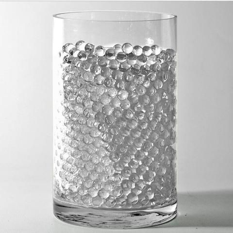 200 To 250 Pcs Clear Small Round Deco Water Beads Jelly Vase Filler Balls Vase Fillers Water Beads Vase