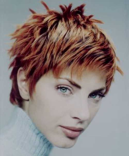Brilliant 30 Spiky Short Haircuts Short Haircut Com 30 Spiky Hairstyle Inspiration Daily Dogsangcom