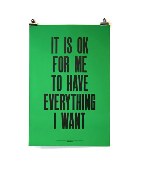 If you want it do everything you can to get it.