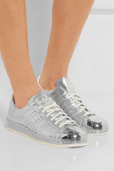 nike air max 90 id - adidas Originals | Baskets en cuir m��tallis�� Superstar 80s | NET-A ...