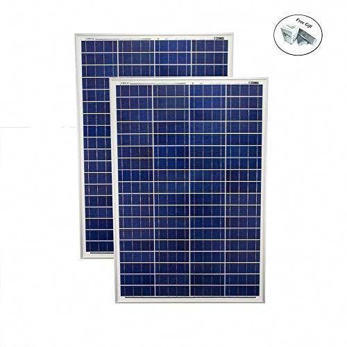 Eight24hours 200 Watt Solar Panel Poly 2pc 100w Watts 12v Rv Boat Home 2 Pack Only Green Lawn Garden Store In 2020 Off Grid Solar Panels Solar Energy Panels Solar Panels