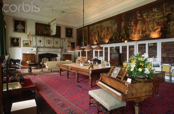 Billiards Room, Glamis Castle   Glamis Castle   Pinterest ...