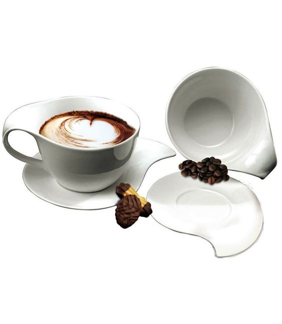 Italian Design Coffee Cup Set  @Pascale Lemay De Groof