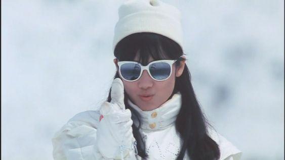 tomoyo harada 原田知世 おしゃれまとめの人気アイデア pinterest 통솔 g 動画 原田知世 スキー 女優