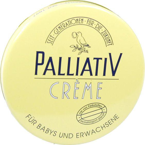 PALLIATIV Creme:   Packungsinhalt: 50 ml Creme PZN: 00760142 Hersteller: PALLIATIV Schmithausen & Riese Preis: 1,52 EUR inkl. 19 % MwSt.…