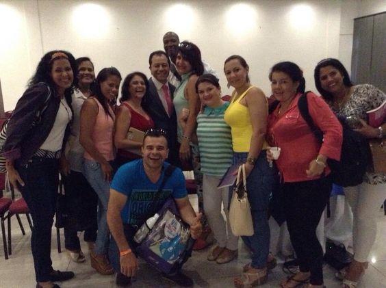 En Barranquilla Gracias empresarios !!!!