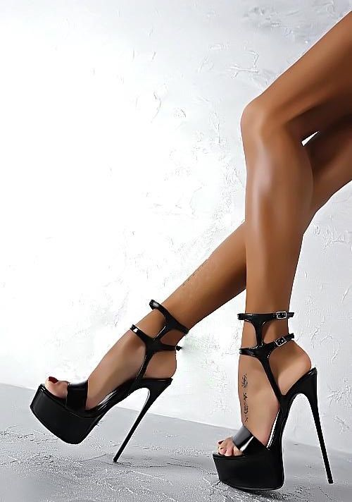 Details about Womens Sexy Super High Heels Platform Stiletto Pumps ...