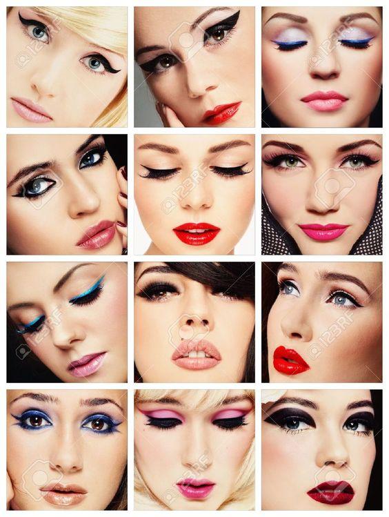 collage moda y belleza - Buscar con Google