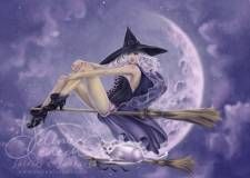 Pin Up Witches- Bewitched  : Selina Fenech