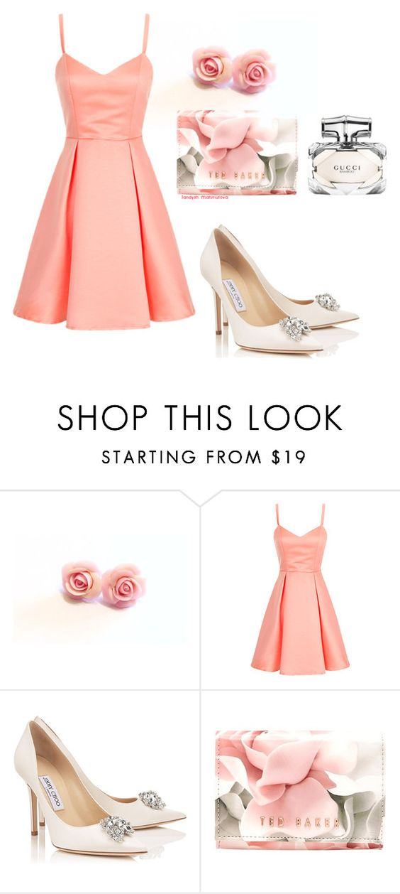 """Шикарно"" by landysh-1425 ❤ liked on Polyvore featuring Ted Baker and Gucci"