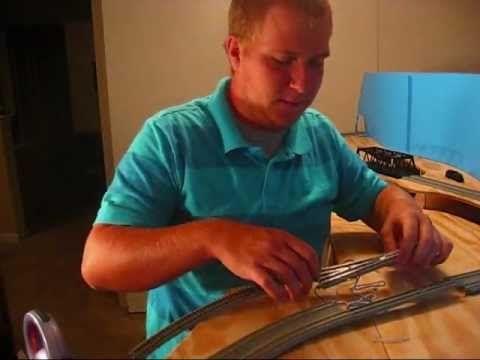 How to make Kato Unitrack DCC - 09-4-12 - YouTube