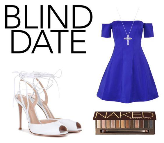 """""""Blind Date😍"""" by fashionsniper04 ❤ liked on Polyvore featuring Kendall + Kylie, Gianvito Rossi, Inner Circle Jewelry and Urban Decay"""