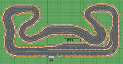 race car track scalextric track plans search scalextric 12020