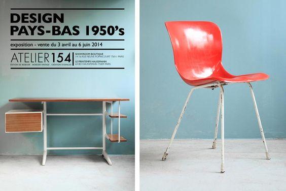 Exposition Design Pays-Bas 1950\'s à l\'Atelier 154 | Design