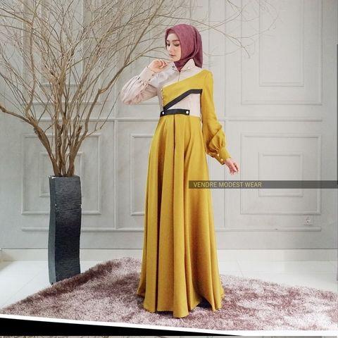 Original Wilma Dress Luxury Trend Fashion Model Pakaian Tren