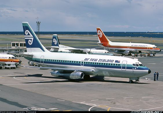 Air New Zealand Boeing 737 219 Zk Nac C N 19929 Wellington International Wlg Nzwn December 27 1982 In 2020 Air New Zealand Boeing 737 Aviation