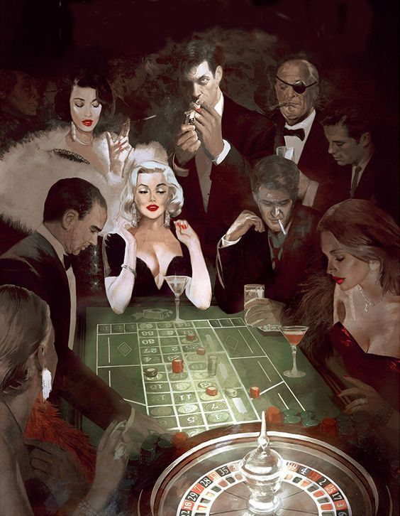 Some of the Most Famous art that Explore the Motif of Gambling
