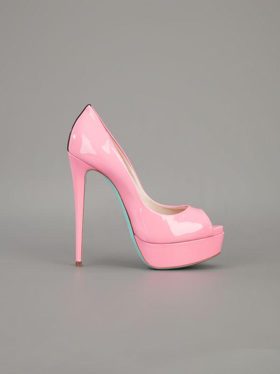 RUTHIE DAVIS - Peep toe rosa. 7