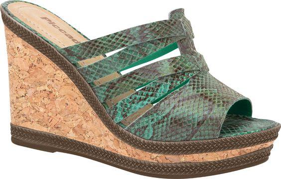 Muito conforto e estilo com os calçados da Piccadilly!