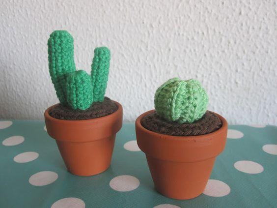 The Funky Fox: DIY - Mini kaktus