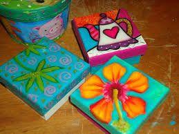 Resultado de imagen para cajas de madera decoradas