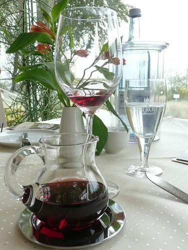 Restaurant mit Meerblick auf Usedom