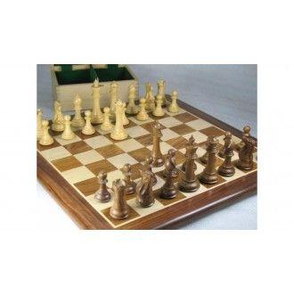 Schachspiel - Sammlerserie Staunton Indische Schachfiguren (König 123 mm)mit goldbraunem Schachbrett aus Sheeshamholz und Buchsbaumholz mit einer kostenloser Figurenbox >> http://www.chessbazaar.de/schachspiel/kostengunstige-schachspiele/schachspiel-sammlerserie-staunton-indische-schachfiguren-aus-sheeshamholz-und-buchsbaumholz-konig-123-mm-mit-goldbraunem-schachbrett-aus-sheeshamholz-und-buchsbaumholz-mit-abgerundeten-ecken-mit-einer.html