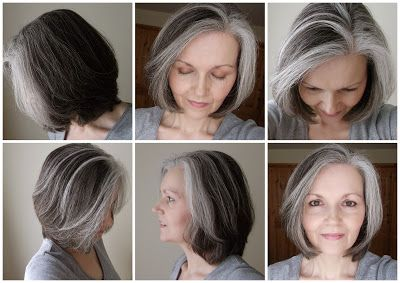 Another great way to transition into grey. Large blocks on grey to pave the way. from Denise O'Neill