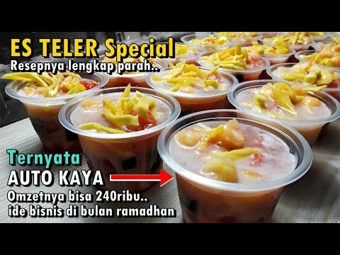 Resep Lengkap Es Teler Special Modal Dikit Bisa Omzet 340ribu Ide Bisnis Takjil Puasa Youtube Resep Makanan Resep Ide Bisnis