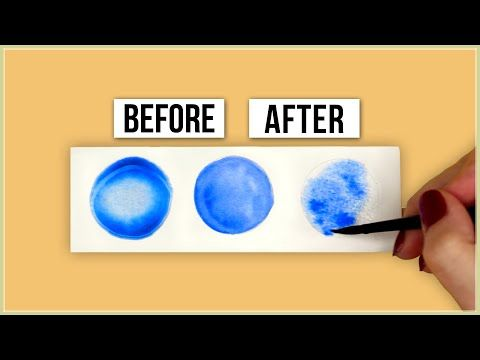 How To Control Water In Your Watercolor Painting Master The Paint
