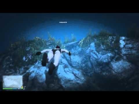 Grand Theft Auto V: UFO Crash
