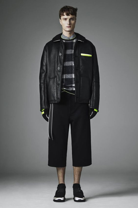 Christopher Kane Fall/Winter 2016/17 - London Collections: MEN - Male Fashion Trends