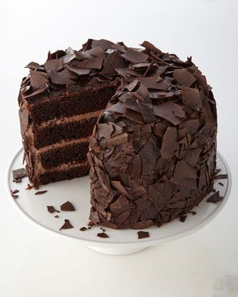 Chocolate Overload Cake at Neiman Marcus.