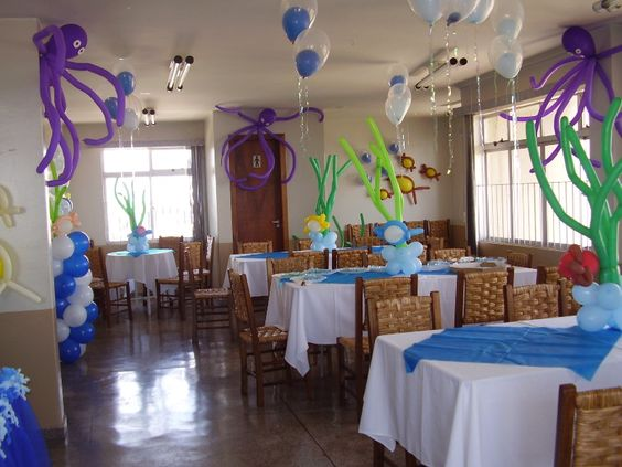 Festa fundo do mar!
