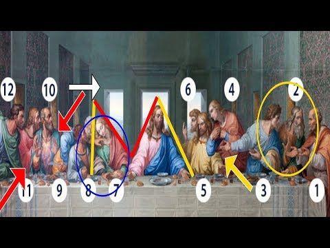 Os Codigos Secretos Da Ultima Ceia De Jesus Cristo Youtube Em