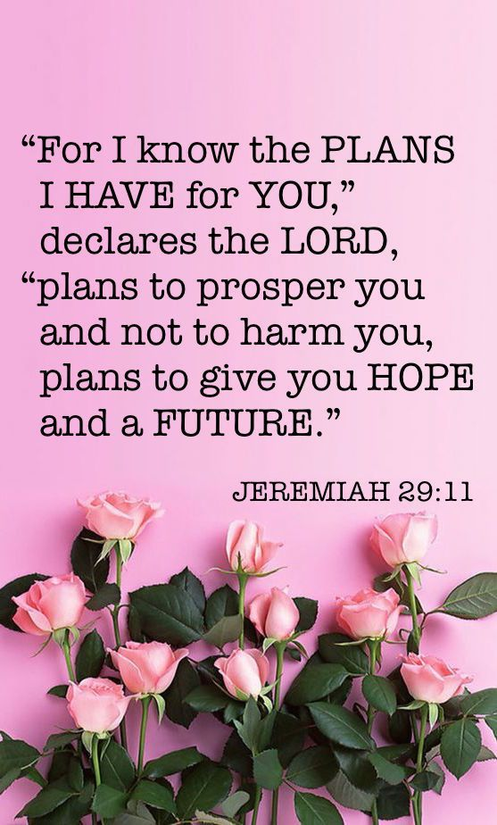 Jeremiah 29:11 Plans to give you hope and a future. #trust
