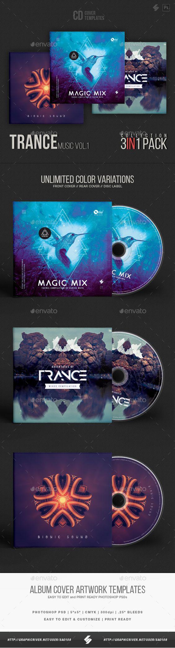 trance music cd cover artwork templates bundle cd cover trance music cd cover artwork templates bundle cd dvd artwork print