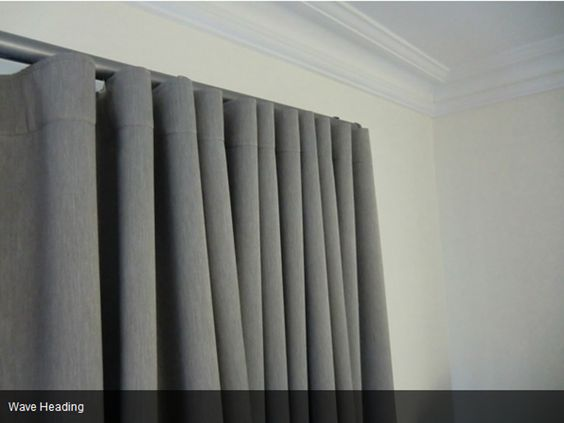 Waves Shutters And Curtains On Pinterest