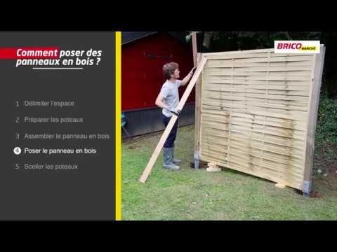 Comment Poser Des Panneaux En Bois Bricomarche Youtube Panneau Bois Comment Poser Panneau